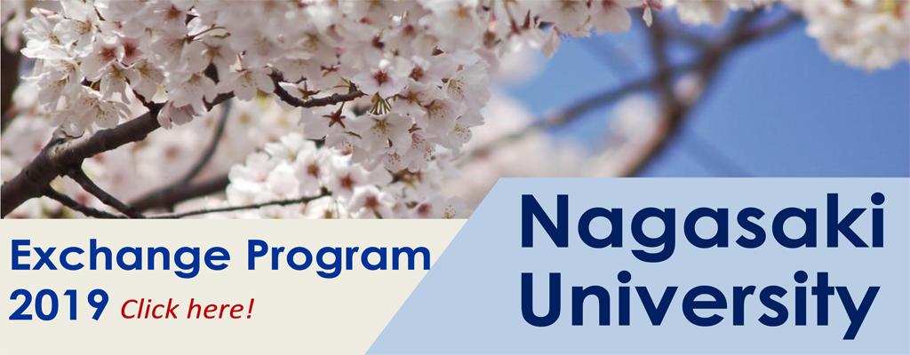 Nagasaki Scholarship 2019