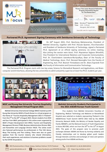 MUIR Infocus E-Newsletter Issue#26 Vol.2-small