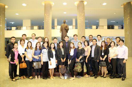 บริษัท ซีพี ออลล์ จำกัด (มหาชน) เข้าศึกษาดูงานด้านการบริหารความเสี่ยงและการบริหารความต่อเนื่องในภาวะวิกฤต ณ ศูนย์บริหารจัดการความเสี่ยง มหาวิทยาลัยมหิดล # 24 พ.ย 2560