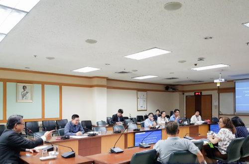 การประชุมการบริหารความต่อเนื่องสำนักงานอธิการบดี (BCM OP) มหาวิทยาลัยมหิดล ครั้งที่ 1/2561