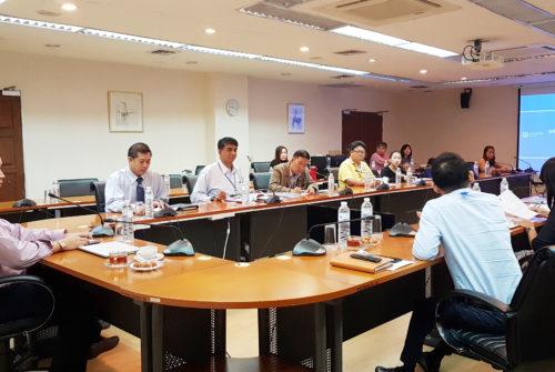 ประชุมหารือและทบทวนแนวทางการบริหารจัดการความต่อเนื่อง (BCM)วิทยาเขตกาญจนบุรี # 14 ม.ค. 2562