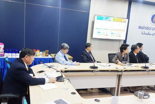 การประชุมคณะกรรมการบริหารความต่อเนื่อง มหาวิทยาลัยมหิดล ครั้งที่ 1/2562 กำหนดมาตรการในการป้องกันฝุ่นของมหาวิทยาลัยมหิดล # 4 ก.พ. 2562