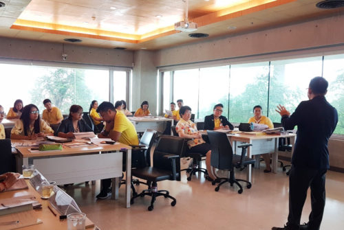 """การอบรมเชิงปฏิบัติการ""""การบริหารความต่อเนื่องในการดำเนินงานของคณะพยาบาลศาสตร์ (BCM Workshop)"""" #13 พ.ค. 2562"""