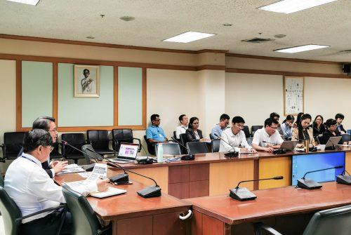 ประชุมการบริหารความต่อเนื่อง สำนักงานอธิการบดี (BCM OP) มหาวิทยาลัยมหิดล ครั้งที่2/2563 #12 มี.ค. 63