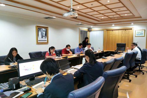 ประชุมหารือแนวทางการดำเนินงานด้านการบริหารความต่อเนื่อง BCM พื้นที่ศาลายา ครั้งที่ 2/2563 # 3 มี.ค. 2563