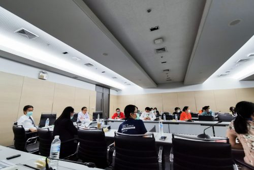 ประชุมคณะทำงานจัดทำแผนบริหารความต่อเนื่องพื้นที่วิทยาเขตบางกอกน้อย ครั้งที่ 1/2563 # 19 มี.ค. 2563