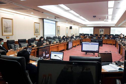 การประชุมคณะกรรมการประจำมหาวิทยาลัยมหิดล ครั้งที่ 7/2563 เรื่อง การบริหารความต่อเนื่องของ มหาวิทยาลัย โรคติดเชื้อไวรัสโคโรนา 2019 (COVID-19) # 8 เม.ย. 2563