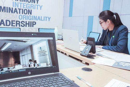 การประชุมเพื่อเตรียมความพร้อมในการซ้อมแผนความต่อเนื่องในการดำเนินงานของพื้นที่ (Business Continuity Plan: BCP) พื้นที่พญาไท การประชุมผ่านสื่ออิเล็กทรอนิกส์ โดยใช้ระบบ Cisco Webex Meeting  # 5 มิ.ย. 2563