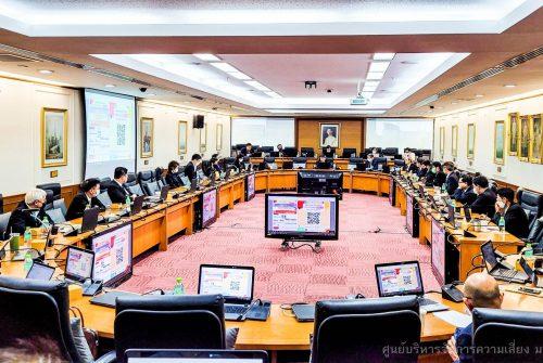 ประชุมคณะกรรมการประจำมหาวิทยาลัยมหิดล ครั้งที่ 2/2564 เรื่อง การบริหารความต่อเนื่องของ มหาวิทยาลัย โรคติดเชื้อไวรัสโคโรนา 2019 (COVID-19) # 27 ม.ค. 2564
