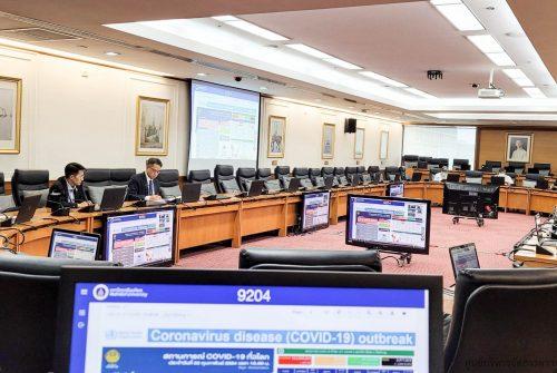 การประชุมคณะกรรมการบริหารมหาวิทยาลัย ครั้งที่ 6/2564 เรื่อง การบริหารความต่อเนื่องของมหาวิทยาลัย โรคติดเชื้อไวรัสโคโรนา 2019 (COVID-19) # 23 ก.พ. 2564