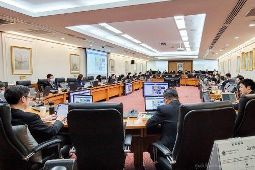 ประชุมคณะกรรมการประจำมหาวิทยาลัยมหิดล ครั้งที่ 5/2564 เรื่อง การบริหารความต่อเนื่องของ มหาวิทยาลัย โรคติดเชื้อไวรัสโคโรนา 2019 (COVID-19) # 10 มี.ค. 2564