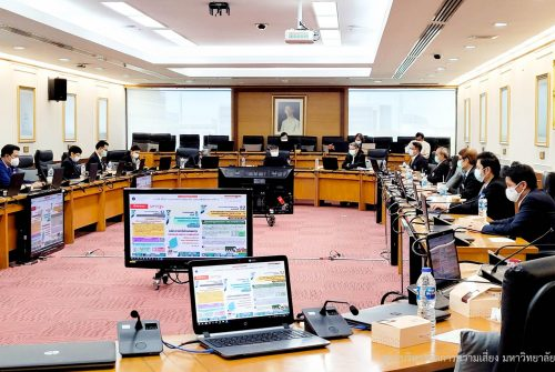 การประชุมคณะกรรมการประจำมหาวิทยาลัยมหิดล ครั้งที่ 10/2564 เรื่อง การบริหารความต่อเนื่องของ มหาวิทยาลัย โรคติดเชื้อไวรัสโคโรนา 2019 (COVID-19) # 28 พ.ค. 2564