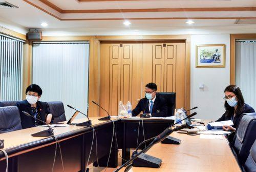 การประชุมคณะกรรมการบริหารความเสี่ยง (สภามหาวิทยาลัย) ครั้งที่ 3/2564 (ครั้งที่ 4) # 13 พ.ค. 2564