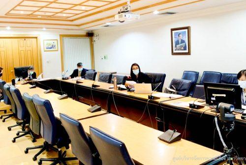 การประชุมคณะกรรมการอำนวยการสำหรับการให้บริการฉีดวัคซีนป้องกันโรคติดเชื้อไวรัสโคโรนา 2019 (COVID-19) โดยศูนย์การแพทย์กาญจนาภิเษก ณ ศูนย์ประชุมมหิดลสิทธาคาร ศาลายา ครั้งที่ 1/2564 # 24 พ.ค. 2564
